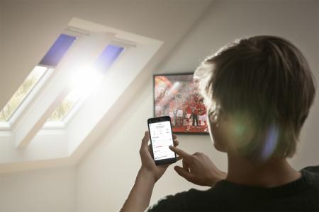 VELUX Active – chytré ovládání elektrických střešních oken