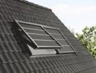 Solárně poháněné venkovní rolety VELUX