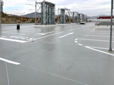 Pojížděná střecha parkoviště