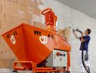 1_Originální omítací stroj Knauf PFT G4 s příslušenstvím zajistí, aby omítka byla bez hrudek a bublinek