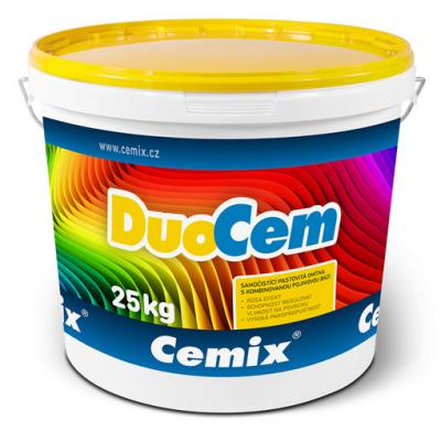 Tenkovrstvá omítka Cemix DuoCem v balení po 25 kg