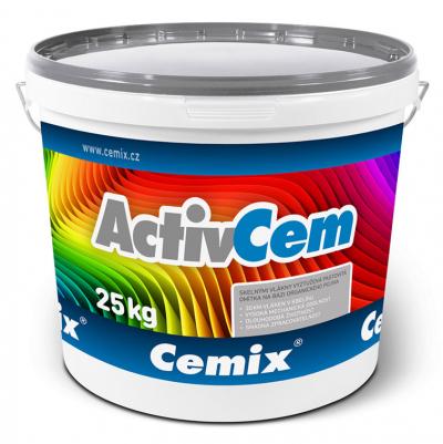 Tenkovrstvá omítka Cemix ActivCem v balení po 25 kg