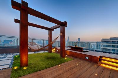 Vegetační střecha jako místo pro relaxaci