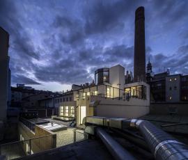 Revitalizace brownfieldů: bývalá výrobna uzenin přeměněná na kanceláře v Praze 4 (autor konceptu Atelier Hoffman)