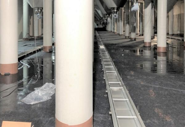 Pivovar Budvar odvodňuje provoz nerezovými žlaby MEA