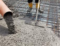 Výroba betonu v Česku v prvním čtvrtletí stoupla o 7,8 procenta