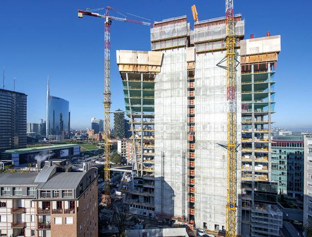 Inovace a stálost: PERI při stavbě kancelářského komplexu GIOIA 22 v Miláně