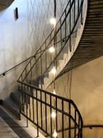 Šporkovský palác – černé točité schodiště