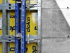 1_Nová stavba nádraží Hostivař (realizace Metrostav) bude celá realizována za pomoci pohledových betonů. Ty byly zhotoveny pomocí stěnového rámového bednění Framax Xlife, nosníkového velkoplošného bednění TOP 50 a nosníkového stropního bednění Dokaflex. Ke slovu přišly i některé prvky bednění vyrobené na míru pro tento projekt.
