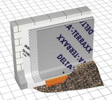 DELTA-TERRAXX – funkční odvodnění spodní stavby