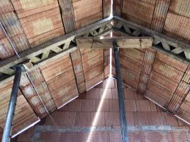 Obr. 1: Realizace těžké šikmé střechy