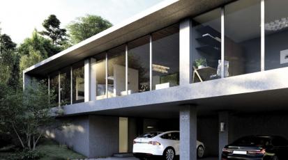 Kategorie Rodinný dům, odměna – Martin Matoušek, SPŠ stavební Brno, vedoucí práce: Ing. Ondřej Lyčka