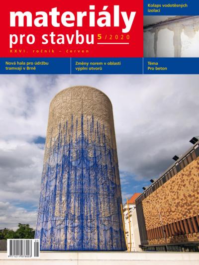 Materiály pro stavbu 5/2020