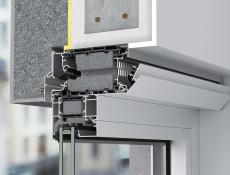 Nový ventilační systém Schüco VentoFrame Asonic do nových i renovovaných hliníkových oken