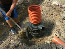 Odvodňovací prvky Wavin pro zamezení škodám z přívalových dešťů