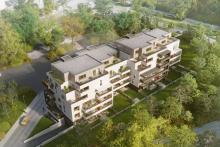 Rezidence Písková - vizualizace (zdroj: Crescon)