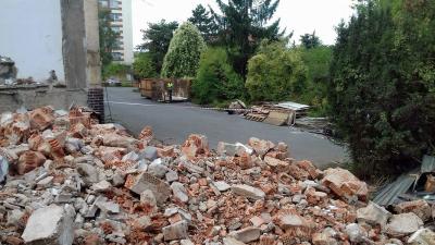 Ročně se v Česku vyprodukuje na 7,5 miliónu tun stavebního odpadu