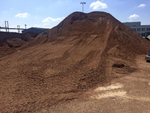 Cihelný recyklát pro výrobu Rebetongu v olomoucké betonárně