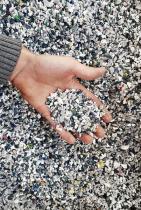 Vstupní materiál, recyklovaný plast
