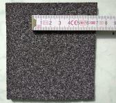 Obr. 4: Příklady povrchové úpravy na horním povrchu asfaltových pásů: jemnozrnný minerální posyp.