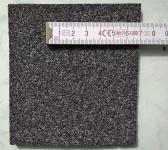 Obr. 5: Příklady povrchové úpravy na spodním povrchu asfaltových pásů: jemnozrnným posypem