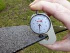 Měření tloušťky povlakových hydroizolací plochých střech