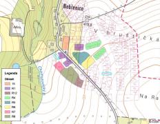 Obr. 3: Oblasti vrtných polí, které simuloval 3D model