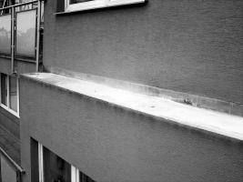 Obr. 19: TiZn oplechování nad okny