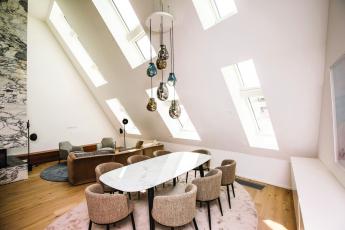 Penthouse N°10 ve Vídni (zdroj: Fakro)