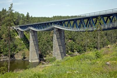 Rekonstrukce mostu přes přehradu Hracholusky