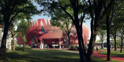 Novou podobu Horácké arény v Jihlavě navrhlo studio Chybík+Krištof