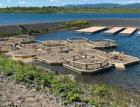 Metrostav dokončil hrubou stavbu na jezeru Most