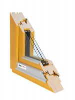 Dřevěné okno 100