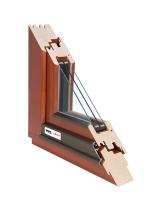 Dřevěné okno 88