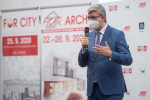 Zahájení veletrhu FOR ARCH 2020
