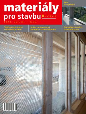Materiály pro stavbu 8/2020