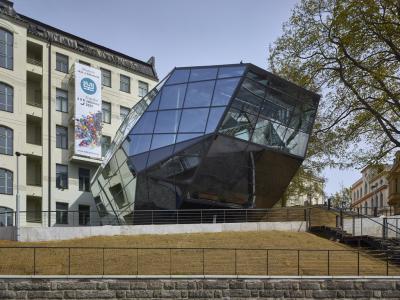 Přístavba Muzea skla a bižuterie Jablonec