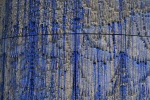 Detail finální podoby opláštění tunelu