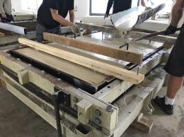 Betonáž panelů