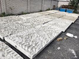Uložení panelů po výrobě