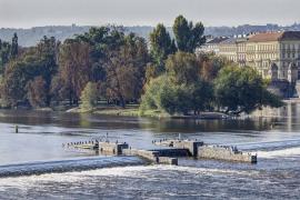 Začala rekonstrukce Staroměstského jezu (zdroj: Metrostav)
