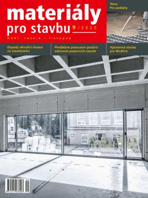 Materiály pro stavbu 9/2020
