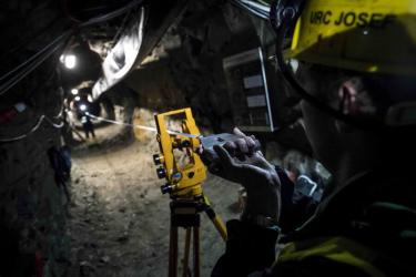 Podzemní laboratoř Josef (zdroj: FSv ČVUT)