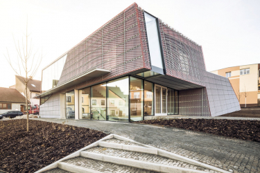 Modlitebna Společenského centra v Sedlčanech po dokončení
