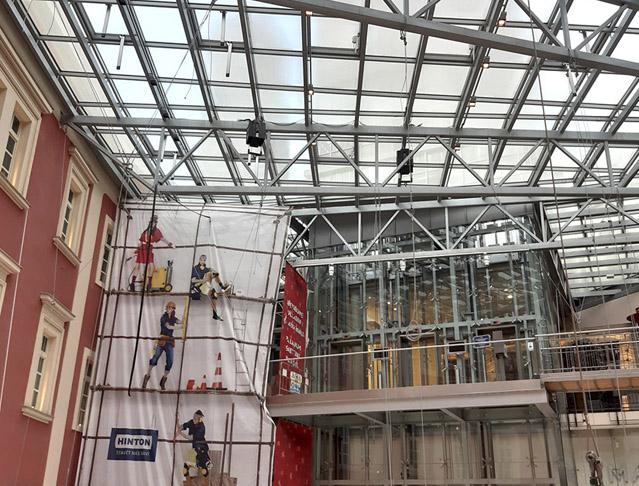 Rekonstrukce a stavební úpravy nákupního centra PALLADIUM