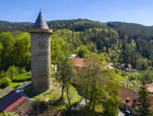 1_Rekonstrukce gotické věže Jakobínka na hradě Rožmberku