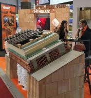 Obr. 3: Šikmá střecha s nosnou konstrukcí z keramických tvarovek již má dostatečnou tepelněakumulační schopnost