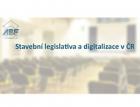 Stavební legislativa a digitalizace v ČR
