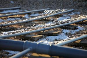 Technické detaily přírodních čistíren – dávkování odpadní vody na plochu