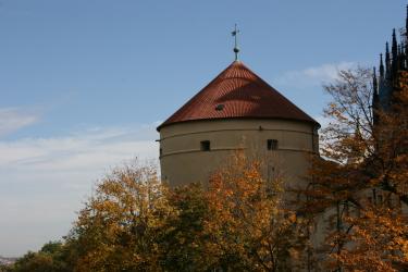 Prašná věž Mihulka na Pražském hradě